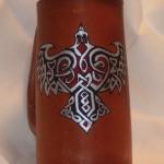 Celtic Eagle Flagon