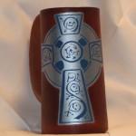 Cross Blue Silver Flagon