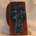 Cross Flagon Blue