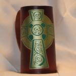 Cross Flagon Green