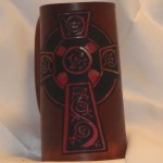 Cross Flagon Red