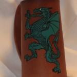 Dragon Flagon Green