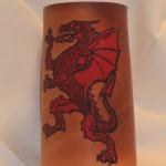 Dragon Flagon Red
