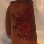 Griffon Flagon- Red