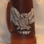 Owl Flagon Laser