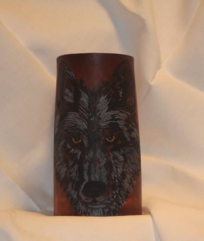 Wolf Flagon- Black