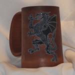 Dragon Mug Black