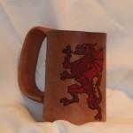 Dragon Mug Red